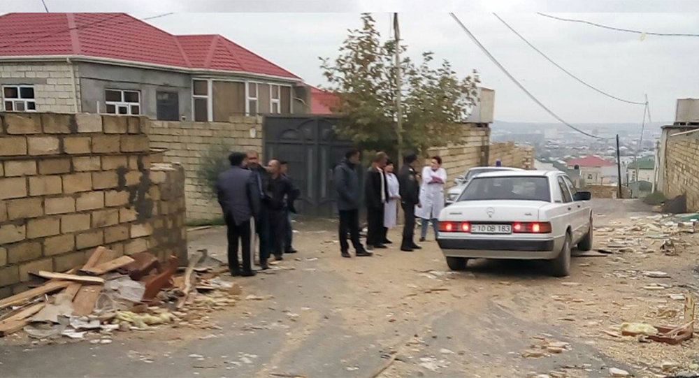 Водном изчастных домов Азербайджана произошел взрыв: есть жертвы