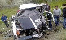 Микроавтобус Ford после аварии