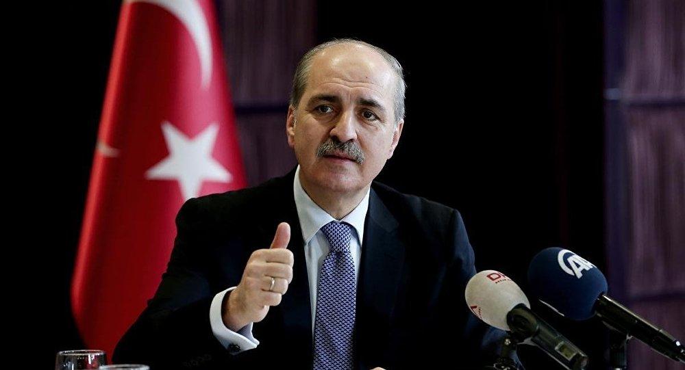 Türkiyə baş nazirinin müavini Numan Kurtulmuş