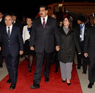 Venesuela prezidenti Nikolas Maduro Bakıya səfər edib