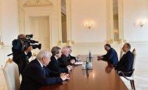 Президент Азербайджана Ильхам Алиев принял сопредседателей Минской группы ОБСЕ