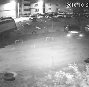 Взрыв жилого дома в Рязани попал на видео