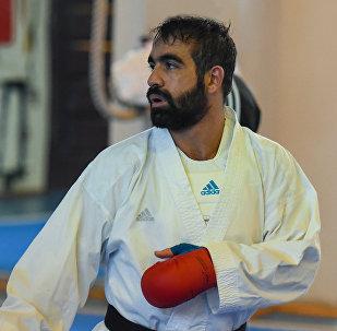 Dördqat dünya çempionu, karateçi Rəfael Ağayev