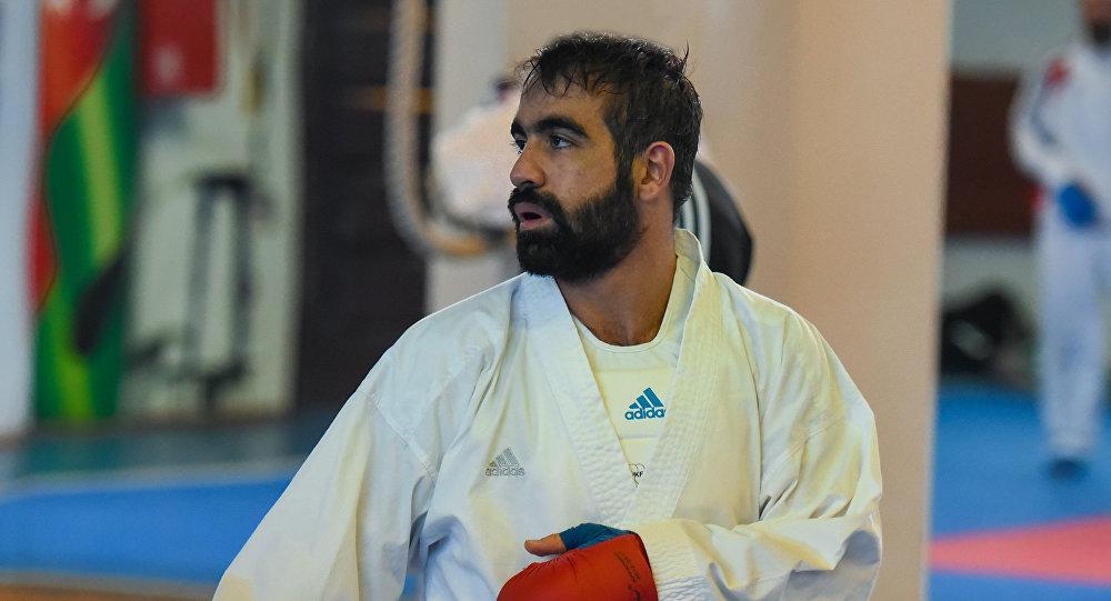 Пятикратный чемпион мира по каратэ Рафаэль Агаев, архивное фото