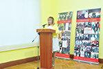 Azərbaycan Musiqi Mədəniyyəti Dövlət Muzeyinin direktoru Alla Bayramova, arxiv şəkli