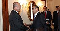 Əli Həsənov və Mövlud Çavuşoğlu