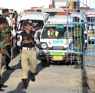 Pakistanın Kvetta şəhərindəki polis mərkəzində terror aktı törədilib