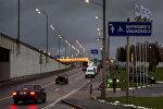 Дорожный указатель на аэропорт Внуково