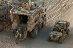 Mosulun cənubundakı Qayyara hərbi bazasındakı amerikan əsgərləri