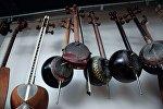 Азербайджанские музыкальные инструменты, архивное фото