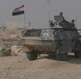 Иракская армия перекрыла дорогу близ Мосула