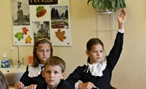 1 сентября в Православной Свято-Петровской школе в Москве