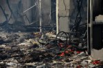 Пожар в кафе, архивное фото