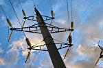 Elektrik xətləri, arxiv şəkli