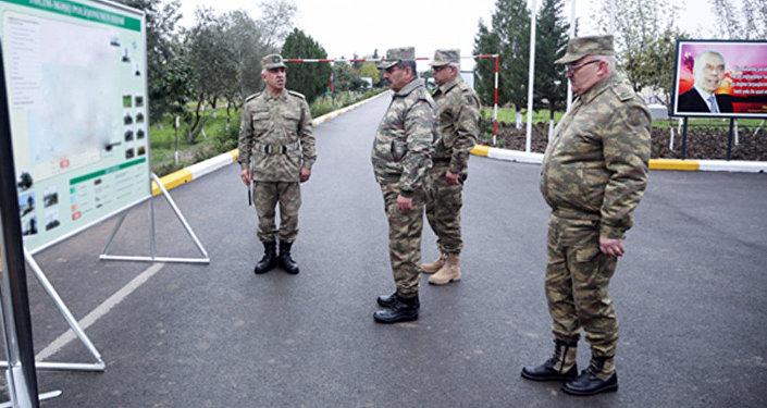 Министр обороны на открытии нового учебно-тренировочного полигона ВВС АР