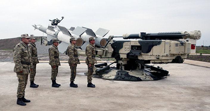 Новый полигон ВВС Азербайджана