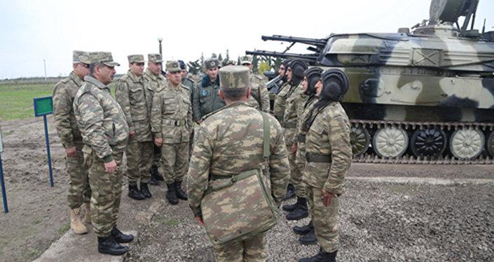 Введен в эксплуатацию новый учебно-тренировочный полигон Военно-воздушных сил АР