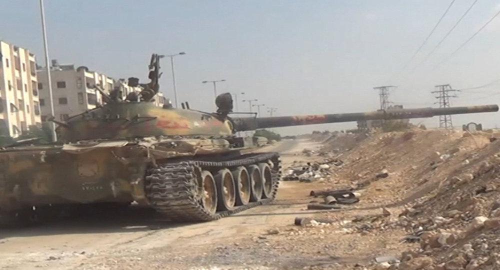 ВДераа сирийская армия ликвидировала несколько отрядов «ан-Нусры»