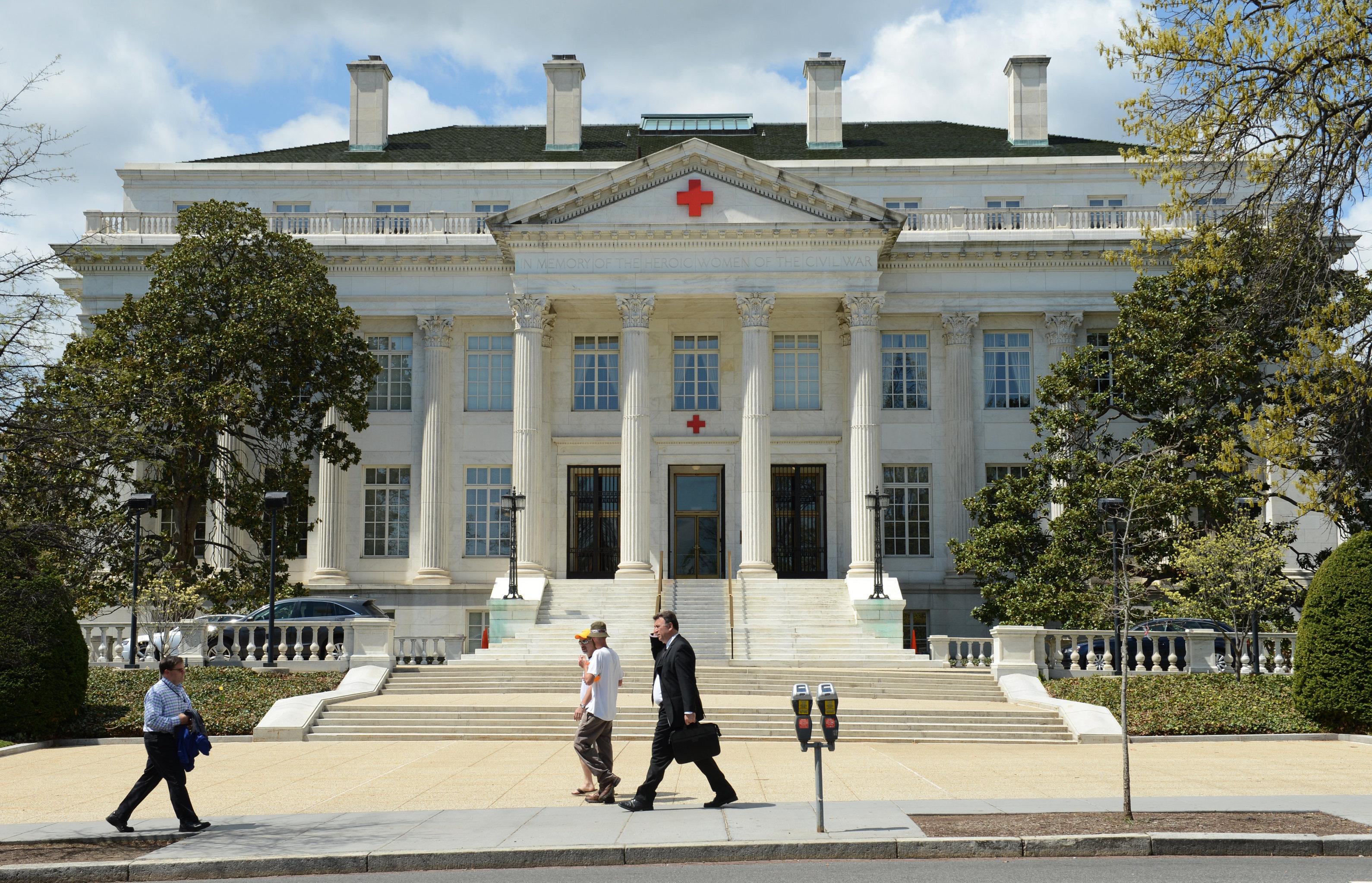Здание американского Красного Креста в Вашингтоне