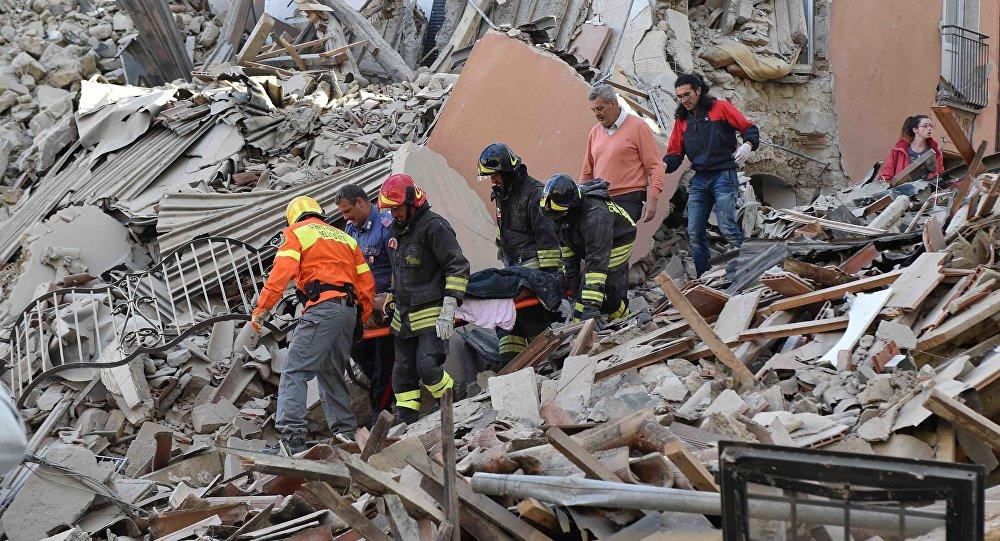 Премьер Италии отменил все поездки ивыступления из-за землетрясения