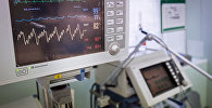 Диагностический медицинский прибор в больнице, архивное фото
