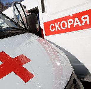Автомобили скорой помощи в России, архивное фото