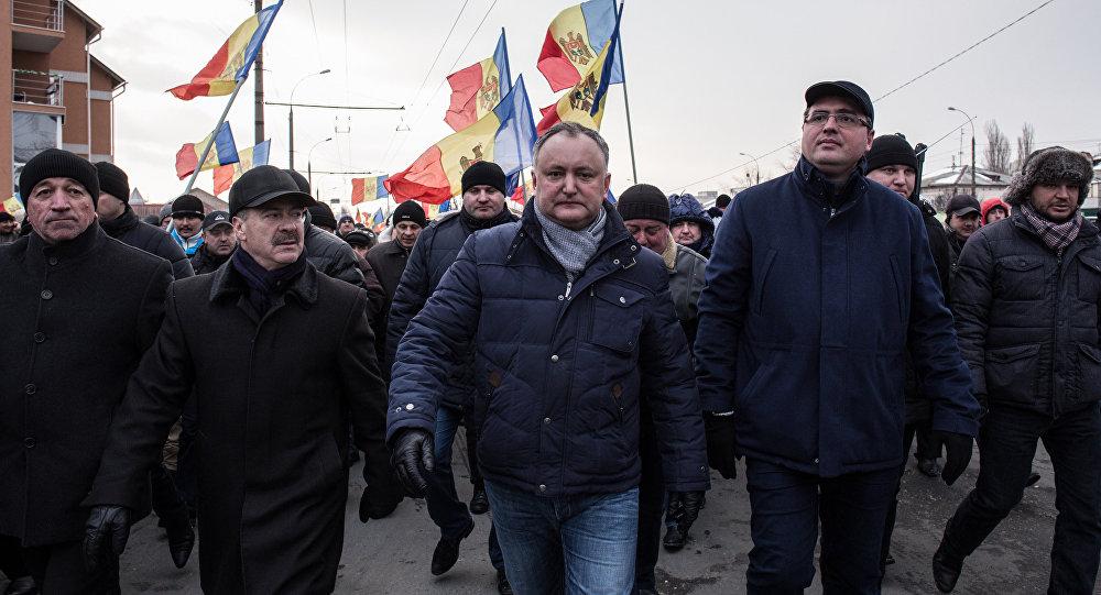 Sosialist partiyasının lideri İqor Dodon
