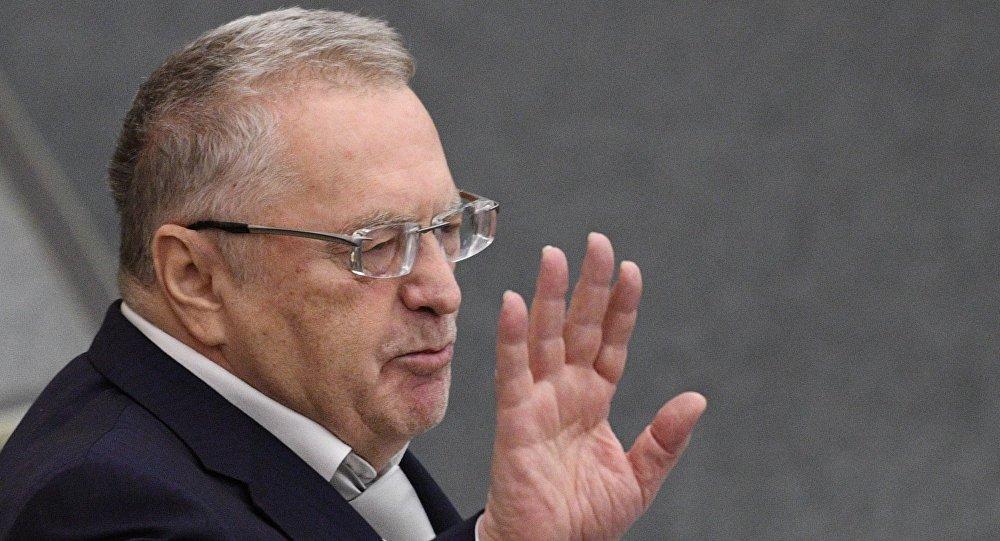 Rusiyanın Liberal Demokrat Partiyasının sədri Vladimir Jirinovski