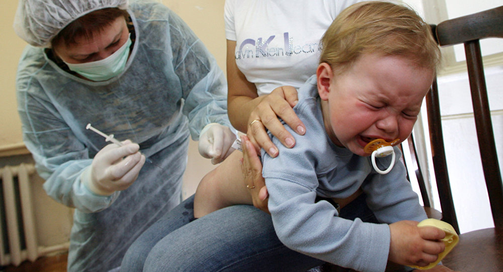 Как сделать маленькому ребенку укол
