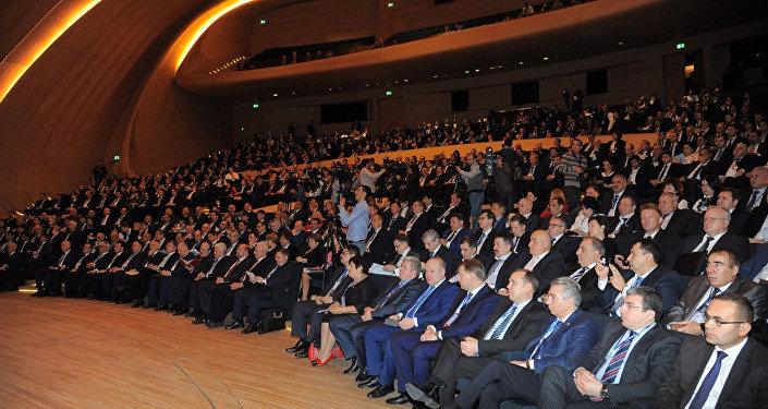 VII Azərbaycan-Rusiya Regionlararası Forumunda mükafatlandırma mərasimi keçirilib