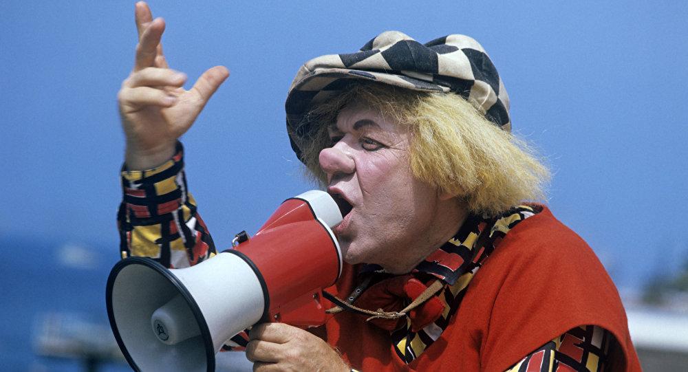Dünya şöhrətli kloun, SSRİ xalq artisti Oleq Popov