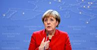 Almaniya kansleri Angela Merkel