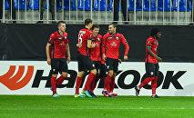 Футбольный матч Габала - Сент-Этьен в Баку