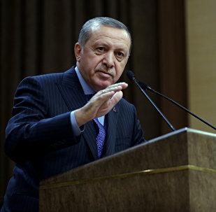 Türkiyə prezidenti Rəcəb Tayyib Ərdoğan, arxiv şəkli
