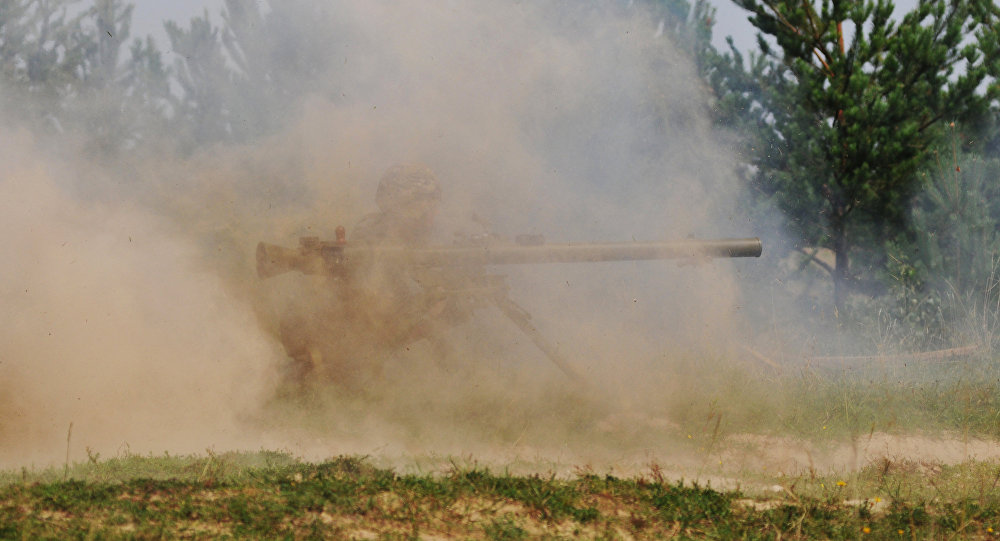 Стрельба из гранатомета, фото из архива