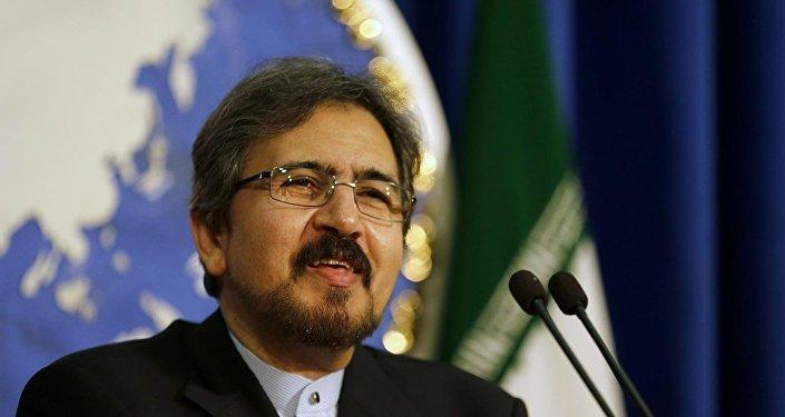 Пресс-секретарь министерства иностранных дел Исламской Республики Бахрам Гасеми
