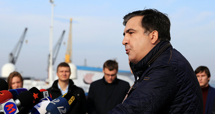 Михаил Саакашвили, архивное фото