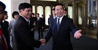 Заместитель министра общественной безопасности Китая Мэн Хунвэй (справа), фото из архива