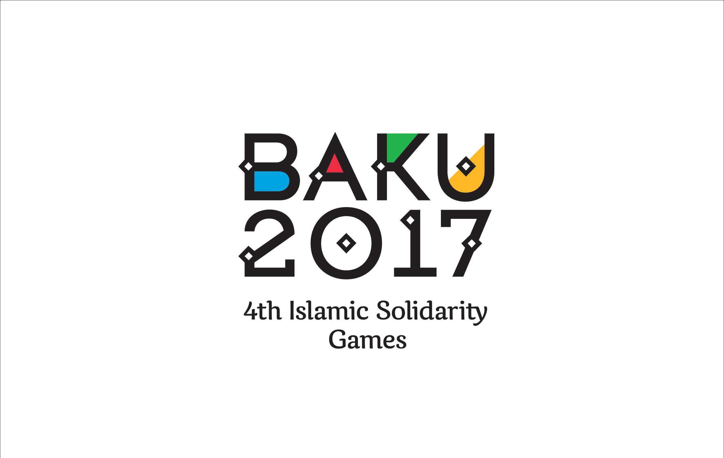 Эмблема IV Исламских игр солидарности в Баку