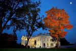 Белый дом в ночь выборов, 8 ноября 2016 года