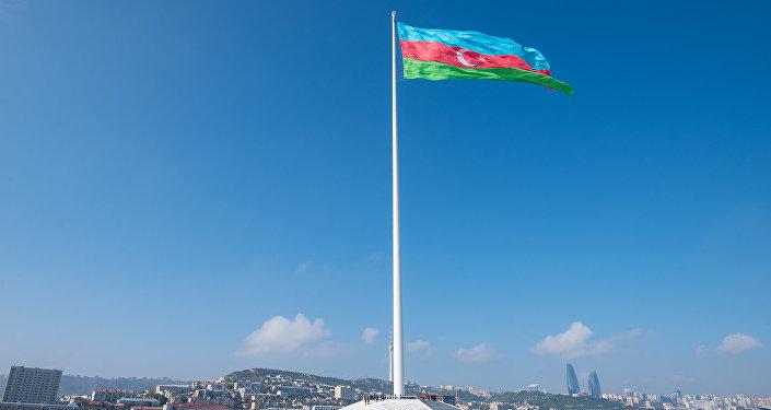 Площадь Государственного флага в Баку, фото из архива