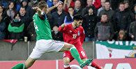Матч сборной Азербайджана со сборной Северной Ирландии