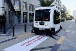 Автомобили без водителя тестируют в Дубае