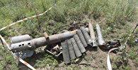 Снаряды, найденные саперами в ходе разминирования территории, фото из архива