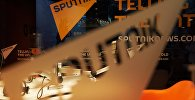 Павильон новостного агентства Sputnik, фото из архива
