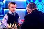 3 yaşlı şahmatçı Mixayıl Osipov