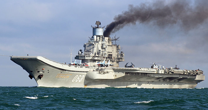 Тяжелый авианесущий крейсер Адмирал Флота Советского Союза Кузнецов, фото из архива