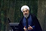 İran prezidenti Həsən Ruhani, arxiv şəkli