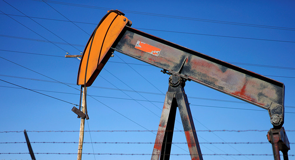 Нефтяной насос в США, фото из архива