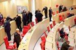 Депутаты в зале заседаний парламента Грузии